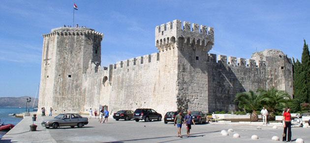 Az egykori Trau vára
