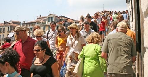 Főszezoni tömeg Horvátországban
