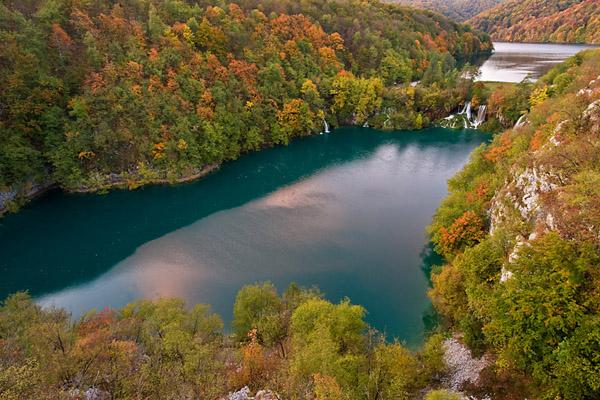 Plitvice ősszel