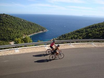 Kerékpáron Horvátországban