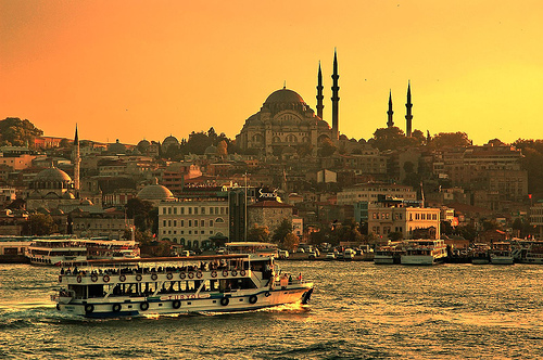 Naplemente Isztambulban