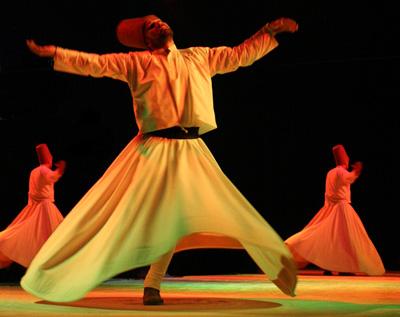 Dervisek tánca