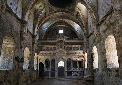 Kayaköy jelenleg történelmi emlékhely
