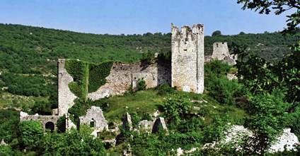 Dvigrad, a horvát Pompeji