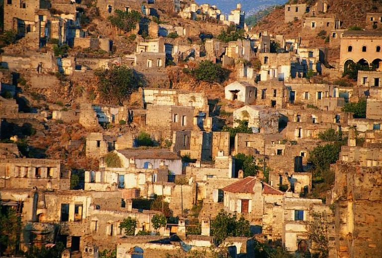 Kayaköy, a szellemváros