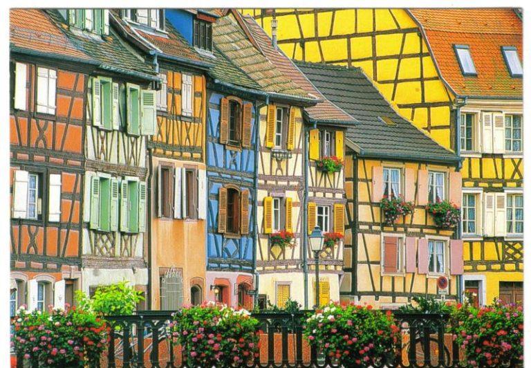 Colmar, a megelevenedett meseváros