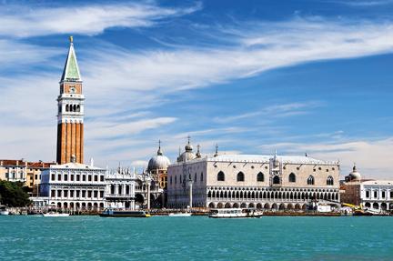 A Szent Márk templom harangtornya Velence egyik szimbóluma.