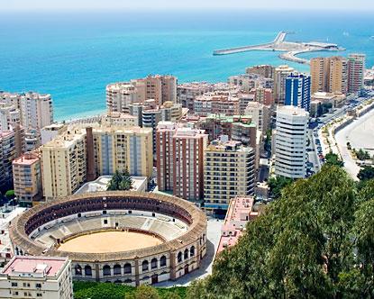 Malaga, a Costa del Sol fővárosa