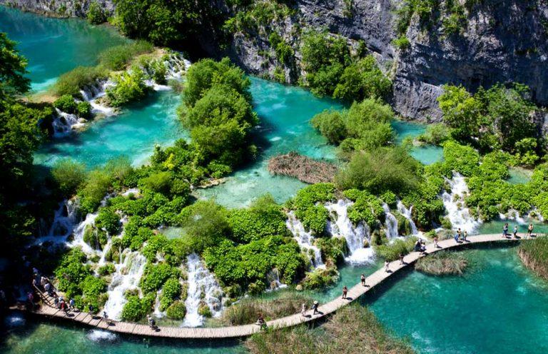 Európa legszebb tavai - Plitvice