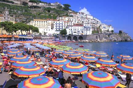 Amalfi strandja