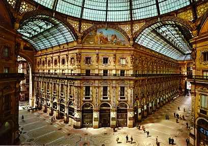 La-Galleria Vittorio Emanuele II.