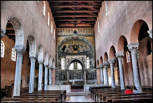 Eufrázius bazilika, Porec