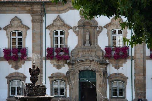 Városháza Braga fő terén
