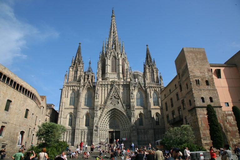 Barcelona katedrálisa a Santa Eulalia