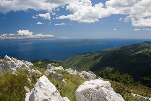 Az Ucka-hegység a Kvarner-öböl egyik jelképe