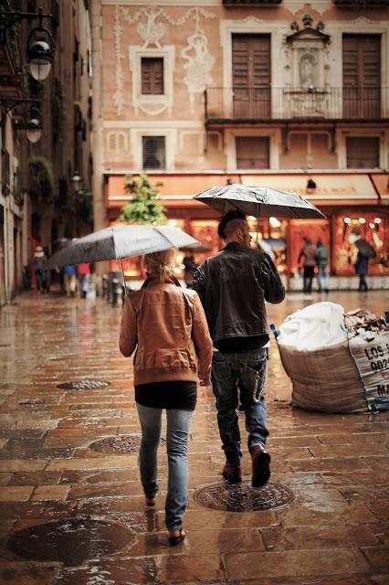 Ősszel és tavasszal Galíciában szinte minden másnap esik az eső