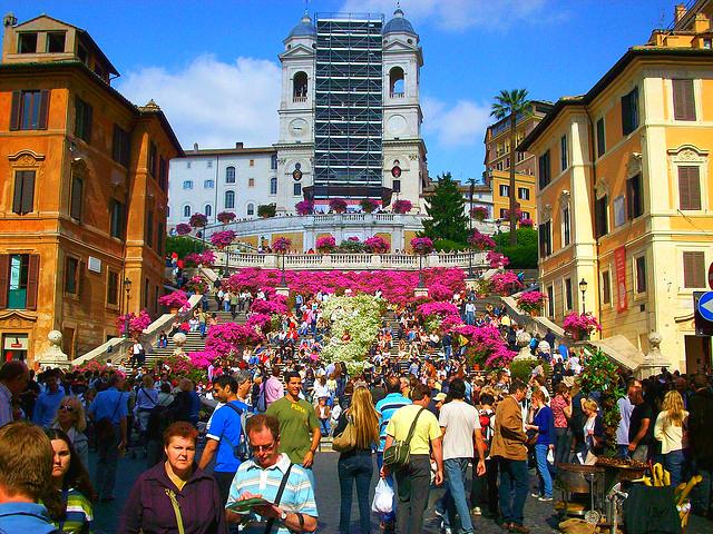 Festa della Primavera, Róma
