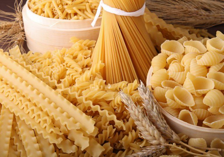 Olaszországban ma több mint 500 különböző típusú tésztát esznek.