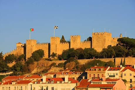 Castelo de Sao Jorge - Lisszabon
