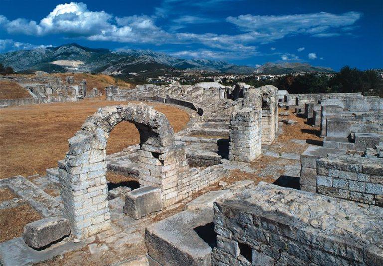 Salona római romváros
