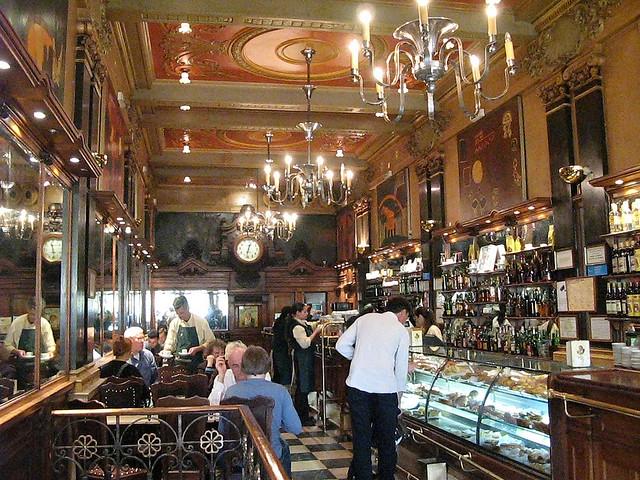 Kávézás Lisszabonban
