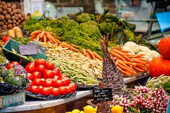 Piaci séta Dél-Franciaországban