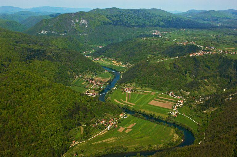 A Kolpa-folyó és vidéke