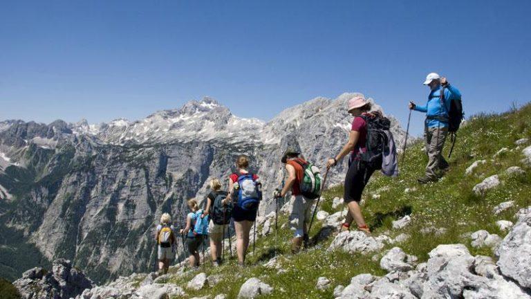 Kirándulás a szlovén Alpokban