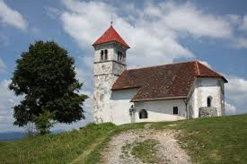 Szent Anna templom Podpeč fölött