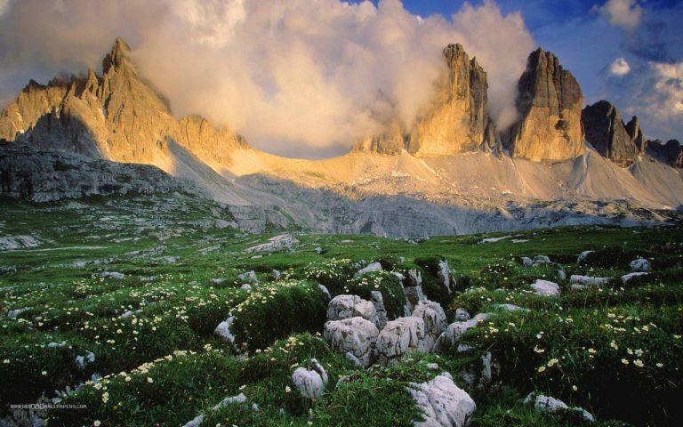 Dél-Tirol hegyei