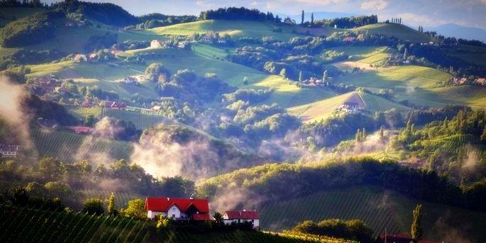 Stájerország szőlővidékei