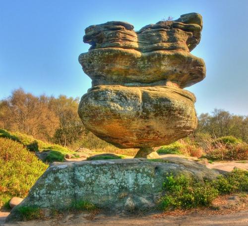 Brimham-sziklák