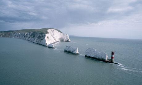 Wight-sziget - Needles