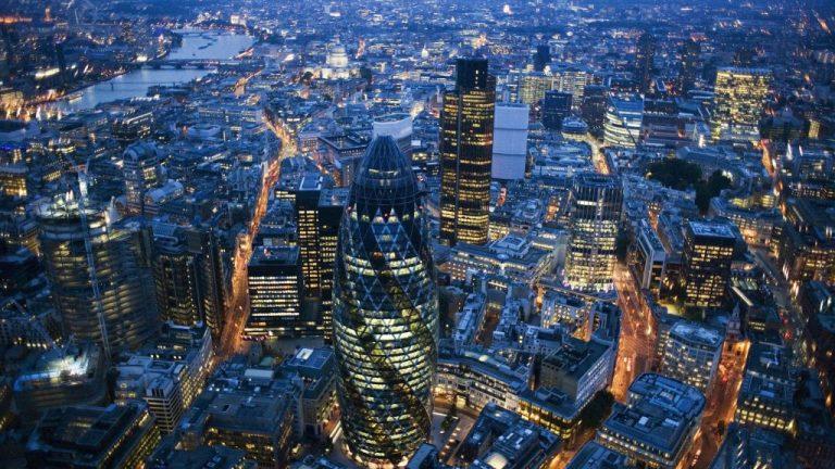 London történelmi magja a City