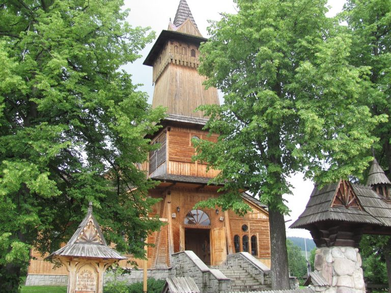 Zakopane régi temploma
