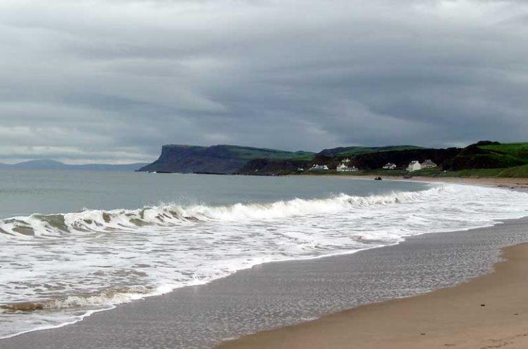 Ballycastle tengerpartja