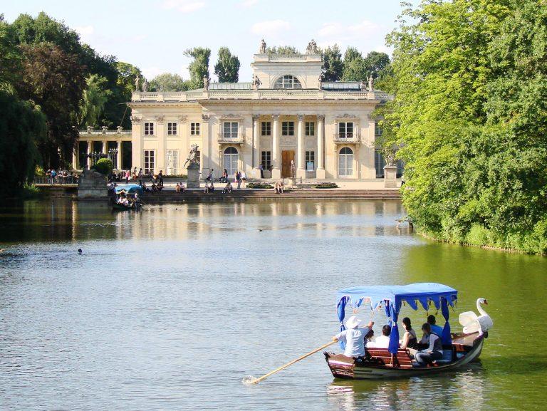 Lazienki Park és palota komplexum