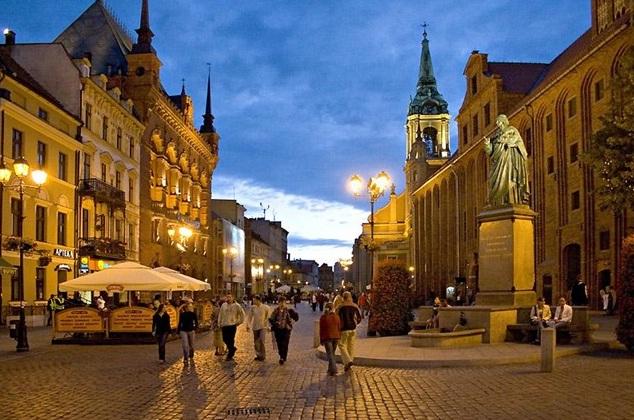 Torun óvárosa