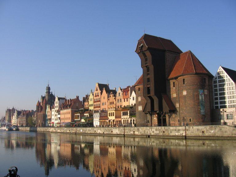 Kikötői daru, Gdansk
