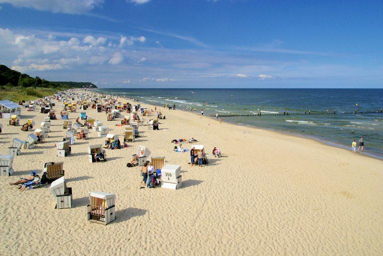 Heringsdorf strand