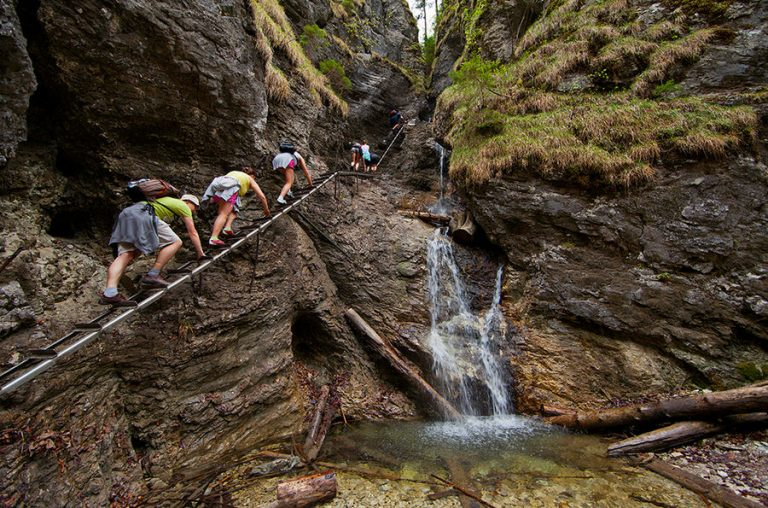 Sucha Belá-patak és a Szlovák Paradicsom Nemzeti Park