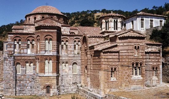 Hosziosz Lukasz-kolostor