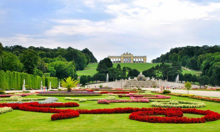 Schönbrunni Palotakert