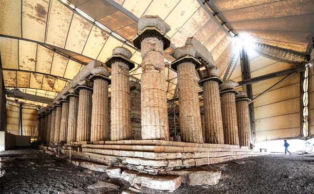 Apollón Epikuriosz temploma