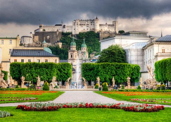 Mirabell palota és a palotakertek