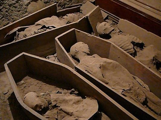 St. Michan templom múmiái - Kilkenny