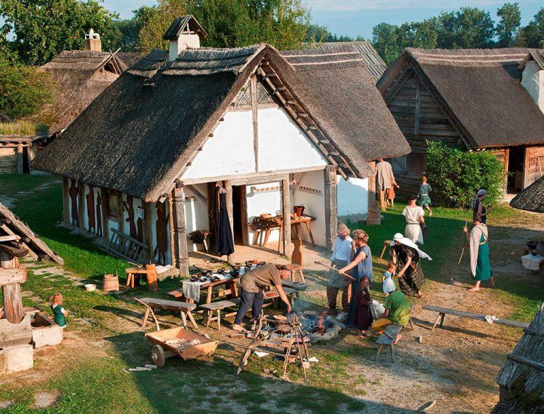Őskori Kelta Falu Szabadtéri Múzeum - Mitterkirchen