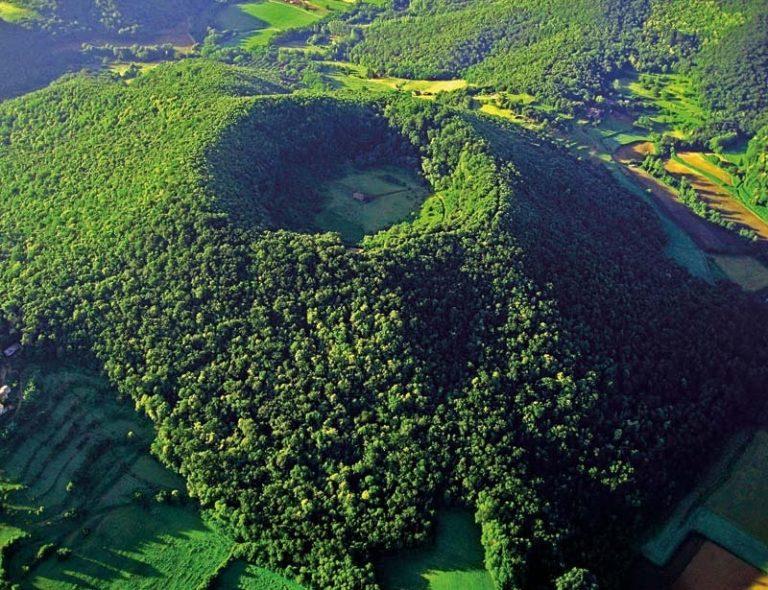 Garrotxa Vulkáni Körzet Természeti Park