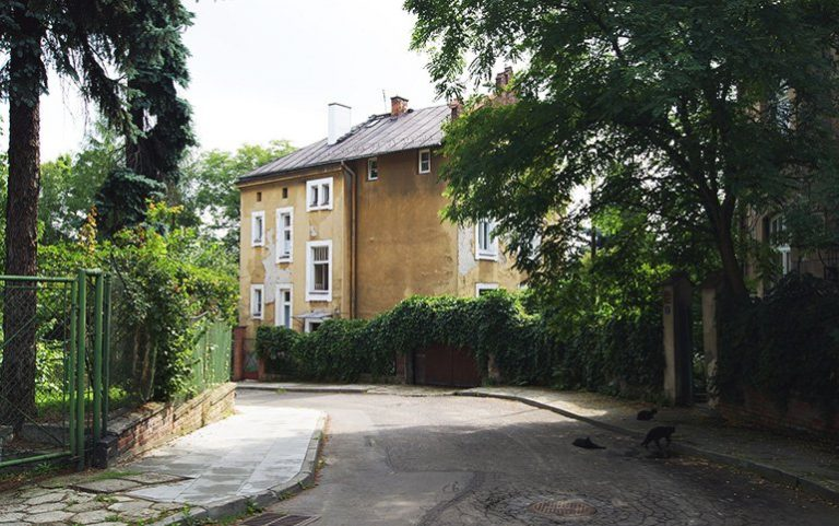 Gontyna utca villái, Krakkó