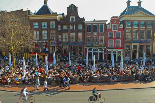 Groningen történelmi központja